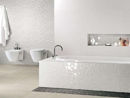 Forum bagno total white con pavimento - Si fa in bagno 94 ...